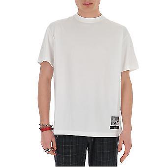 Buscemi Bms20223 Men's White Cotton T-shirt