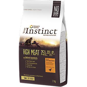 True Instinct dry food High Meat chicken (cats, cat food, dry food)