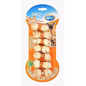 Duvo Snack Blister Hueso Pollo Y Piel 7 Uds (Dogs , Treats , Bones)