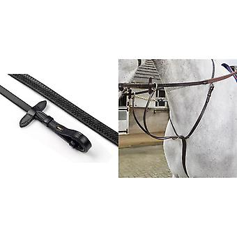 Whitaker Leather Reins with Dimpled Grip