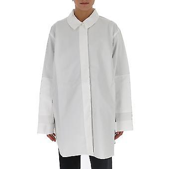 Jacquemus 194sh0219462100 Women's White Cotton Shirt