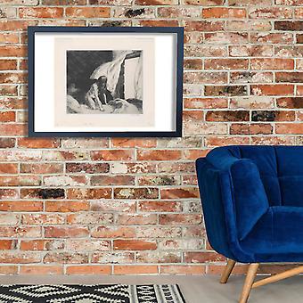 Edward Hopper - Evening Wind Sketch Poster Print Giclee