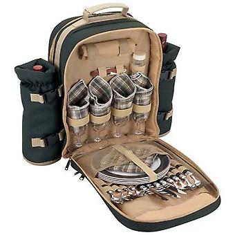 Picnic Backpack Luxury Four Person