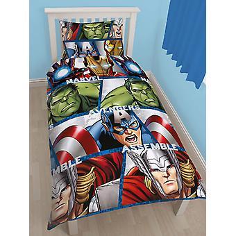Marvel Avengers Shield Duvet Cover and Pillowcase Set