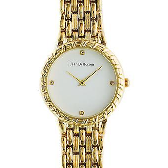 Shows Jean Bellecour Dufrêne REDS20-GW - watch cable white woman