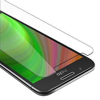 Cadorabo Tank Foil for Motorola MOTO G5 - Protective Film in KRISTALL KLAR - Tempered Display Protective Glass in 9H Hardness with 3D Touch Compatibility