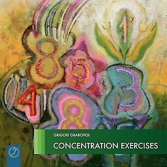 Concentration Exercises Picture Book by Grabovoi & Grigori
