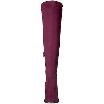 Carlos by Carlos Santana Womens Quantum Fabric Closed Toe Over Knee Fashion B...