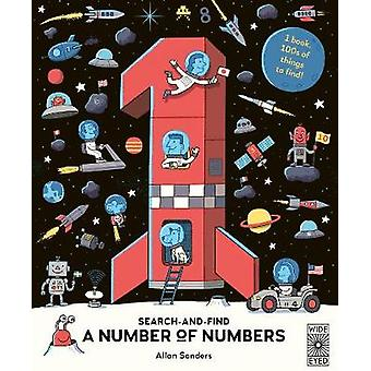 Search and Find A Number of Numbers by AJ Wood - 9781786035363 Book
