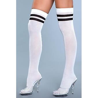 Going Pro Stockings - White