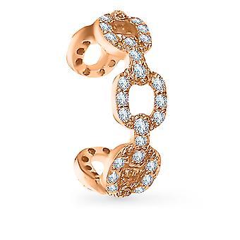 Boucle d'oreille Manchette Diamond Chain 18K Or