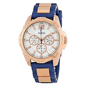 Guess W0325L8 Comfortable Rose Gold-Tone  Ladies Watch