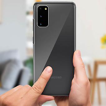 2x Back Screen protector Galaxy S20 Hydrogel Flexible Anti-scratch Imak clear