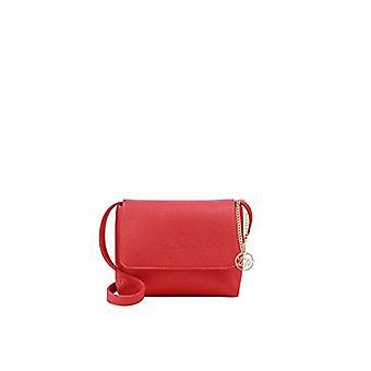Fritzi aus Preussen JUSTINE Women's Red shoulder bag (Red (Lipstick 236/Doubleface)) 8x19x28 cm (B x H x T)