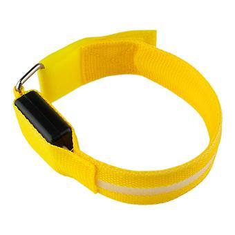 Armband mit LED hellgelb