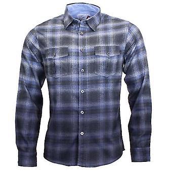 Kleding geborsteld vlaai katoen shirt - MWS-064