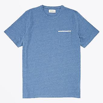 Oliver Spencer  - Oli Pocket Tee - Blue