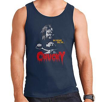 Chucky Meine Freunde nennen mich Chucky Men's Weste