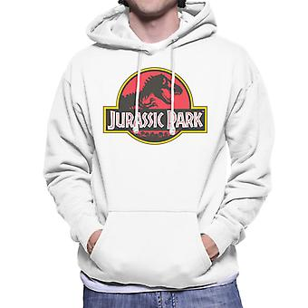 Jurassic Park Classic Logo Men's Hooded Sweatshirt