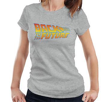 Back To The Future Classic Logo Women's T-Shirt