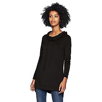 Marka - Daily Ritual Women&s Supersoft Terry Funnel-Neck Tunika, czarny,...