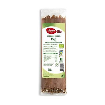 Spaghetti with Millet Bio 500 g