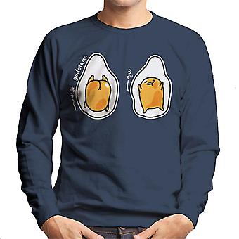 Gudetama Descending Men's Sweatshirt