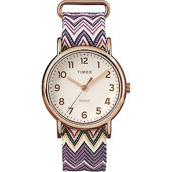 TW2R59000, Weekender Weekender Straps Ladies Watch / Crème