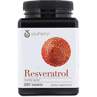 Youtheory, Resveratrol, 290 Tablets