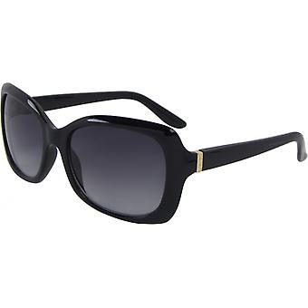 Sunglasses Unisex Wayfarer Kat. 3 black/grey (6145-B)
