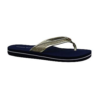 Tommy Hilfiger Women's Black Carrah Flip-Flop Sandals (8, Black)