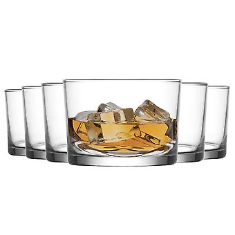 LAV Bodega Whisky Tumbler Bril - 240ml - Pack of 6