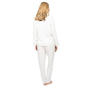 Cyberjammies Nora Rose Jennifer 1449 Women-apos;s Rich Cream Herringbone Pyjama Set