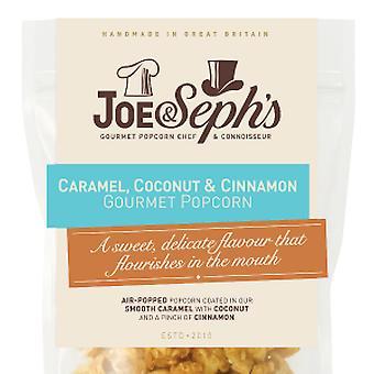Caramel, Coconut & Cinnamon Popcorn