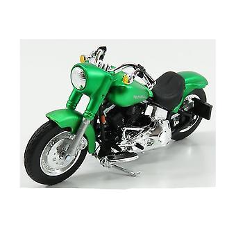 Maisto Harley Davidson 2000 FLSTF Street Stalker Grön 1:18