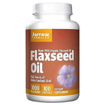 Jarrow Formulas Flaxseed Oil, 100 Softgel