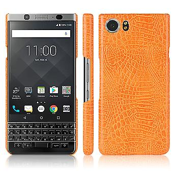Skórzany futerał na Blackberry Editione Orange kusiqi-112