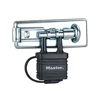 Master Lock Bolt Hasp med integrerad Lås 110mm MLK471