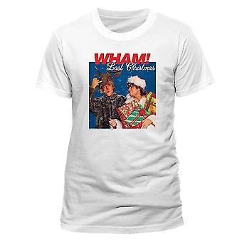 Men's Wham! Last Christmas Album Cover White T-Shirt