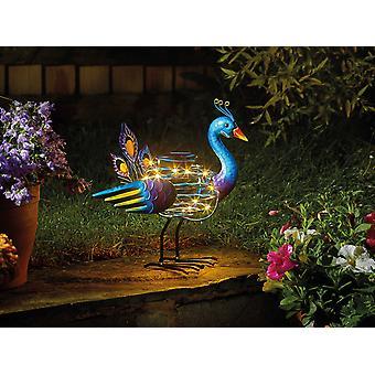 Smart Solar Peacock Spiralight 1080017