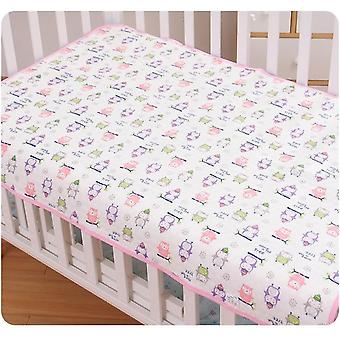 Baby Mattress Urine Pad Waterproof Changing Cotton Breathable Absorbent