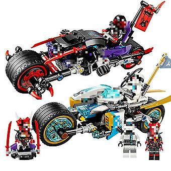 Lepining Ninjago, The Street Race Of Snake Jaguar Building Blocks Toys