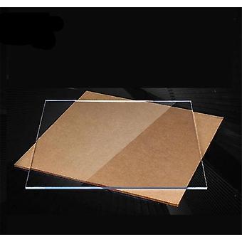 Acrylic Clear Perspex Sheet Cut, Plastic Transparent Board Panel Durable Doors