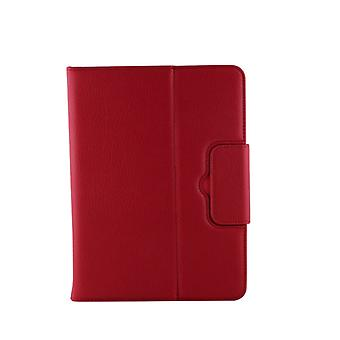 For Galaxy Tab 4 10.1 / T530 Separable Litchi Texture Horizontal Flip Leather Case + Bluetooth Keyboard with Holder & Selfie Function(Red)