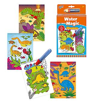 Galt toys water magic dinosaurs, colouring book for children