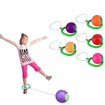 Children Led Flashing Jumping Rope Ball - Ankle Skip Jump Ropes Sports Swing
