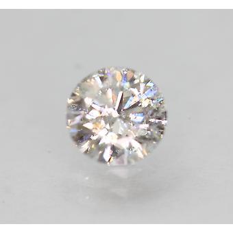 認定 0.55 カラット G SI2 ラウンド ブリリアント エンハンスナチュラル ルーズ ダイヤモンド 5.26mm