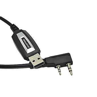 Usb Programming Cable Uv-5r Walkie Talkie Coding Cord Accessories