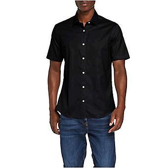 Brand - find. Men's Short Sleeve Cotton Shirt
