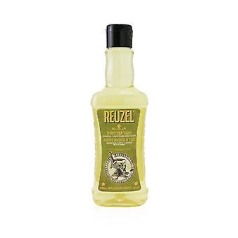 Reuzel 3-In-1 Tea Tree Shampoo Conditioner Body Wash 350ml/11.83oz